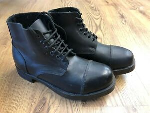 British Army Guards Hob Nail Ammo Parade Boots require work Size 8 medium  - Q8
