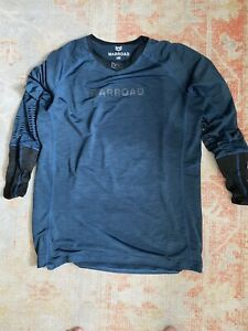 Non Pro Stock WARROAD TILO PRO CR TOP Olympic Blue Large Hockey Base Layer Shirt