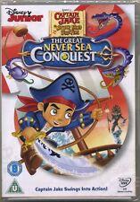 Disney Jake & Neverland Pirates Great Never Sea Conquest Disney Junior New DVD