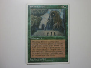 MTG - Sylvan Library (Fourth Edition, en, nm)