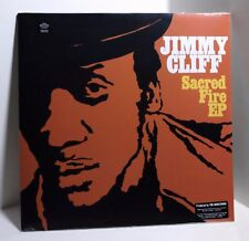 JIMMY CLIFF Sacred Fire COLORED VINYL EP Sealed RANCID & CLASH COVERS