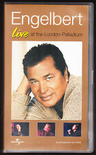 ENGELBERT LIVE AT THE LONDON PALLADIUM - VHS PAL (UK) VIDEO