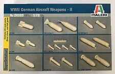 Italeri 26102 wwii german aircraft weapons-ii 1/72 modèle kit nib