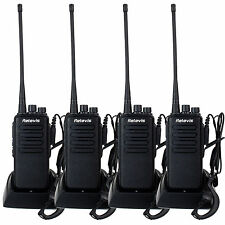 4PCS RETEVIS RT1 10W Walkie Talkie VHF136-174 MHz Scrambler 1750Hz Two Way Radio