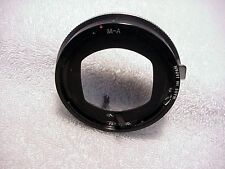 Bushnell Automatic Lens Mount for Miranda F G Automex Camera | Very Nice |