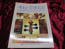 """New """"All for Strings"""", Book 1, by Anderson/Frost, Lot of 30 Method Books!"""