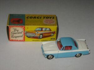 Corgi Toys 231 Triumph Herald Coupe Near Mint In Nice Original Box