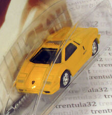 Auto Milestones LAMBORGHINI COUNTACH yellow Sports Car rare 2001 Hot Wheels