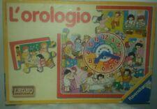 1989 L'OROLOGIO RAVENSBURGER GIOCO BAMBINI VINTAGE - In Scatola Da Tavolo Puzzle