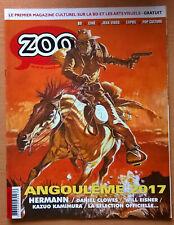 Magazine ZOO n° 63 NEUF (bande-dessinée) Hermann Will Eisner Daniel Clowes