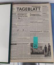 Sächsisches Tageblatt Organ der Liberal-Demokratischen Partei Deutschlands (23)