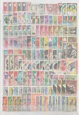 Guinée république important  lot de timbres oblitérés  poste et  PA cote 300 E