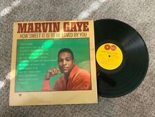 "Marvin Gaye How Sweet it is to be Loved by You Record lp original 1/8""hole punch"