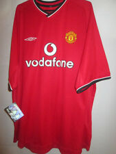 "Manchester United 2000-2002 Home Football Shirt Size XXL 49"" BNWT NEW /15478"
