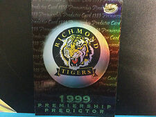 AFL VFL1999 Select  Premiership Predictor Card PC12 : Richmond Tigers
