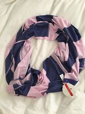Lululemon Vinyasa Scarf NWT Color BSPL Vitasea Fabric Pink And Purple Striped