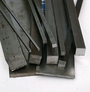 Bright Mild Steel Square Bar 20 mm Diameter 100 mm to 1000 mm