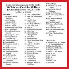 50 Christmas Carols for All Harps Companion CD to the Songbook Harp CD 000121115