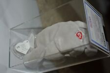 UK EMBROIDERED TUSH MWMT MQ Authenticated TY beanie baby Happy 2nd 1st gen TBB