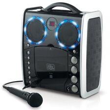 Singing Machine SML-383BK Tragbarer CDG Karaoke-Player + 3 CDs +Lightshow-Effekt
