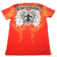 Charlemagne Mens T Shirt by Raw Blue Size Large
