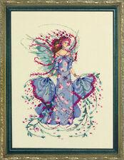 Mirabilia Cross Stitch Chart.MD132 October Opal Fairy .  Cheap Shipping.