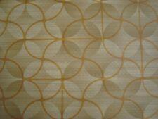 One yd Spradling Printed Naugahyde Vinyl Fabric Upholstery Ferris bronze Bty