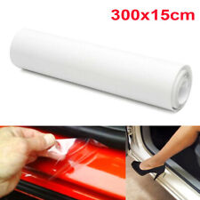 1pc 15cm*3m Clear Car Door Sill Edge Protection Vinyl Film Sheet Anti Scratch