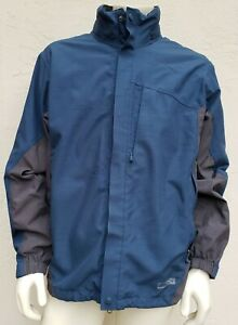 REI Jacket with Detachable Lining No Hood - Blue - LARGE 1938
