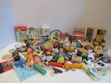 Vintage Junk Drawer/Altered Art Lot Of Collectible Toys & Many Other Great Items