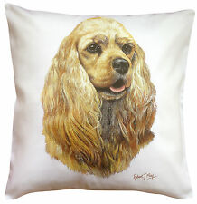 Cocker Spaniel American Dog RM Cotton Cushion Cover - Perfect Gift