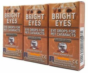 Dogs Cataracts Ethos Bright Eyes Drops Powerful Super Antioxidant for Vision