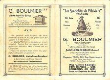 SAINT-JEAN-DE-BRAYE TARIF BOULMIER APICULTEUR RECOLTANT MIEL DE PITHIVIERS