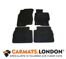 Mazda 6 2008 - 2013 Tailored Car Floor Mats Complete Fitted Set in Black