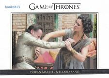 Game Of Thrones: Season 6 - Relationships Chase Card #DL33 Martell & Sand