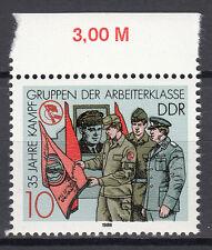 DDR 1988 Mi. Nr. 3178 mit Oberrand Postfrisch (25367)