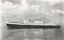 m v KONINGIN EMMA~m v PRINSES BEATRIX~ZEELAND STEAMSHIP COMPANY PHOTO POSTCARD