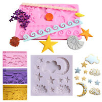 Fondant Cake Mold Craft Mould Candy Decor Tools Silicone Chocolate Baking Sugar