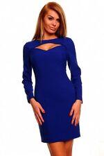 Damen Abendkleid ,Party,Cocktail,Etuikleid,Business Kleid, Gr.M/36,38,,Blau,Neu