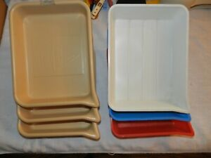 Lot of 6 AGITRAY 5X7 Developing Pour trays 3 Tower #3 Yankee.