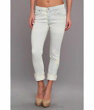 NWT James Jeans Neo Beau Slouchy Fit Boyfriend in Bone Size 31 $194