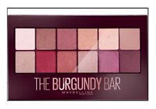 Maybelline THE BURGUNDY BAR Eyeshadow Palette Nude Neutral Matte Satin Shimmer!