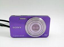 Sony Cyber-shot DSC-W570 16.1MP Digital Camera - Purple