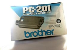 Brother PC-201 PRINTING CARTRIDGE. New cartridge in its elderly-beautiful box.
