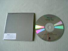 THE XX I Dare You promo CD single