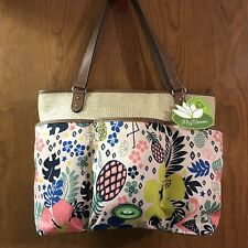 NWT Lily Bloom Nessa Tote - Eco Friendly!- Trop-Pineapple Print