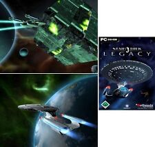 Star trek Legacy en jewelcasehülle successeur de starfleet command 3 très bonne