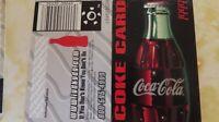Coca Cola 1999 Coke Card