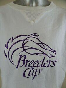 Breeders Cup Vintage 1980's Pullover Windbreaker Horse Racing Santa Anita Womens