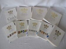 9 ans de Livre Guide Relais et Châteaux ( gourmand ) 1993 à 2001 Collection